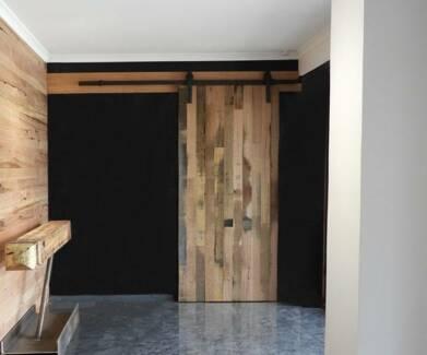 Tasmanian Oak Kiln Dried and Dressed Boards for Barn Doors