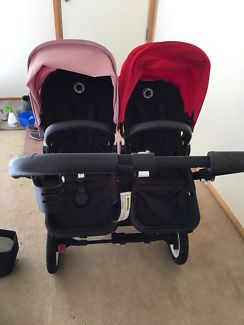 Bugaboo Donkey Duo with lots of extras.