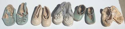 Vintage Baby Shoes - From 1948, 1953 &amp 1960