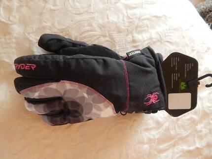 Spyder womens Goretex ski/snowboard gloves, medium size, new