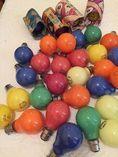 Vintage Coloured Light Globes