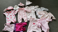 Newborn Baby Girls Clothing, Toys and Wraps
