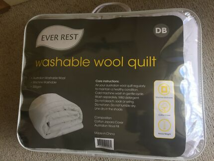 EVER REST 350gsm Pure wool quilt, BRAND NEW unused in packaging,