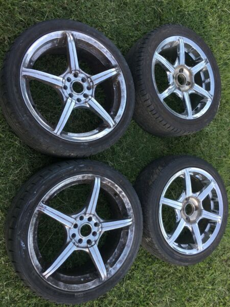 Jap wheels &amp Chromes wheels