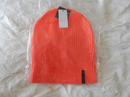 Von Zipper Beanie, mens ski hat, brand new with tags, orange