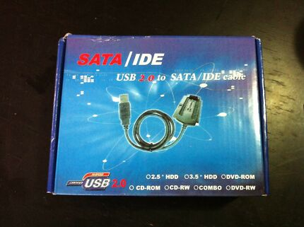 USB to SATA/IDE Cable conversion cables adapter kit for laptop or