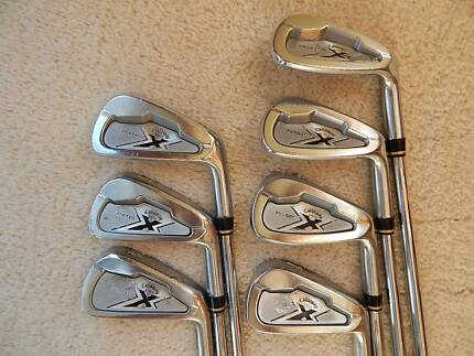 Callaway Forged irons, 4-PW, stiff steel shafts