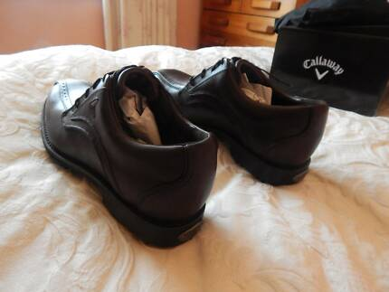 Callaway leather golf shoes, Mens, size 10.5 US, brand new in box