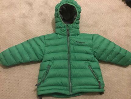 Macpac size 2 puffer coat