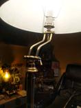 Huge vintage standing lamp.