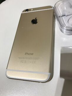 iPhone 6 128Gb gold awesome condition