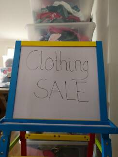 2nd hand clothing sale