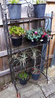 Plant stand and table