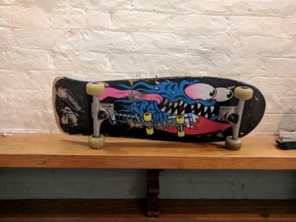 Santa Cruz - Slasher Reissue Skateboard