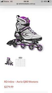 RD Aerio Q80 womens rollerblades derby - size 8