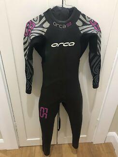 Orca ladies xs wetsuit