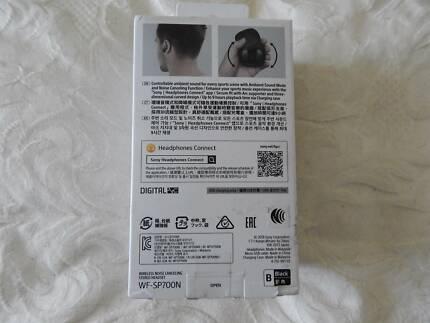 Sony WF-SP700N Wireless Noise Cancelling In-Ear Headphones, new