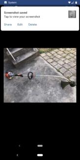 Two stroke whipper snipper