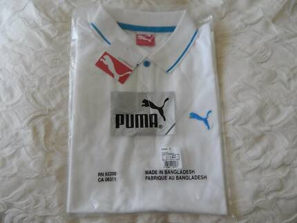 Puma mens polo shirt, size large, brand new in packet