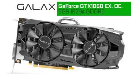Galax GeForce GTX 1060 OC 6GB 192Bit D/Fan
