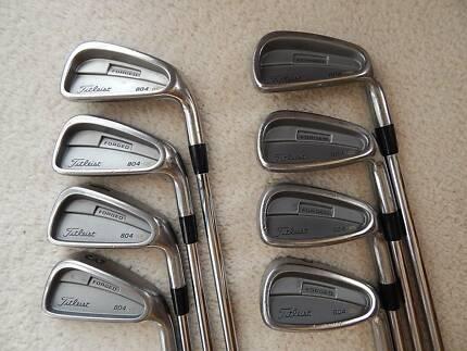 Titleist 804 OS irons set, 3-PW, regular NS Pro steel shafts