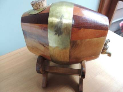 For Fathers&#x27 Day - Handcrafted Wooden Keg for Port/Sherry/Wine