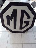 MG sign