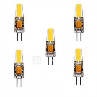5pcs 3 W LED Bi-pin Lights 200-300 lm G4 T 1 LED Beads COB …