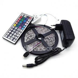 Led Strip Lights Kit 5050 5M 300leds RGB 60leds/m with …