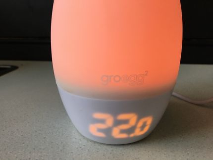Gro egg 2 nightlight/ thermometer