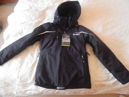 Nevica Womens ski/snowboard jacket, size 6, black, new with tags